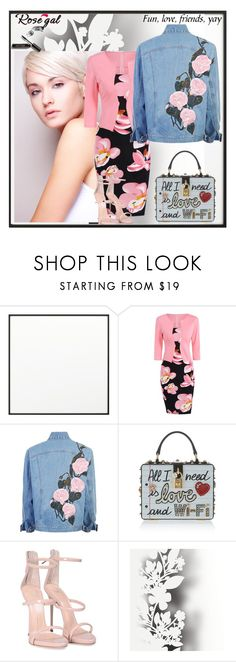"""""""I guess that's just part of loving people: You have to give things up. Sometimes you even have to give them up. —  Lauren Oliver"""" by fredddie ❤ liked on Polyvore featuring By Lassen, Dolce&Gabbana, Giuseppe Zanotti, Élitis and Bobbi Brown Cosmetics"""