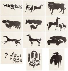 Tain Portfolio (Set of by Louis Le Brocquy at Morgan O'Driscoll Art Auctions Irish Art, Font Styles, Art Auction, Sculpture Art, Moose Art, Ink, Drawings, Embroidery Ideas, Character