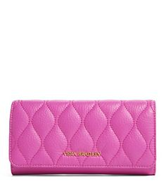 Vera Bradley Audrey Quilted Leather Flap Wallet | Dillard's Mobile