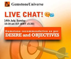 Get ready with your questions because we are meeting for an interactive LIVE CHAT session next SUNDAY.