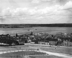 Halifax from Citadel, NS,1901--vintage everyday: Old Photographs of Canada from 1858-1935