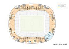 Konya City Stadium,Lodge Floor Plan