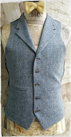New Addition to our Formal Hire Department. The Blue Donegal Tweed. #tweed #donegal #groom #groomsmen #wedding #suit