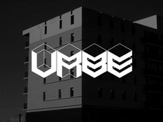 """Urbe Font by Andre Sousa: """"a modular font created previously on FontStruct,  and then redesigned on FontLab Studio to create the volumetric shapes.  This project was inspired on the cities environment, the straight lines and the massive  shapes of buildings and the old computer games, a return to the 8bit pixel art."""""""