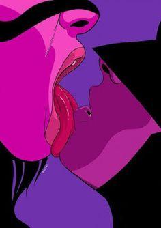 Catwoman And Batman Comics Illustration, Batman And Catwoman, Arte Pop, Dope Art, Psychedelic Art, Erotic Art, Black Art, Art Inspo, Fantasy Art