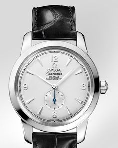 OMEGA Watches: Specialities Olympic Collection London 2012 - Steel-yellow gold on leather strap - 522.23.39.20.02.001