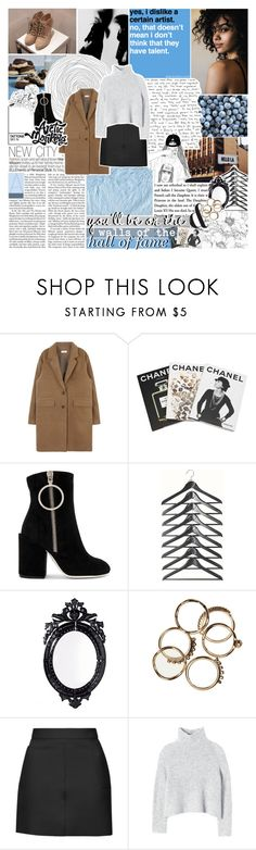 """""""✗ YOU BURN WITH THE BRIGHTEST FLAME"""" by chanelchinadoll ❤ liked on Polyvore featuring Assouline Publishing, Off-White, Belle Maison, Topshop and Rebecca Taylor"""