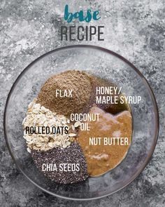 Base Recipe Energy Bites