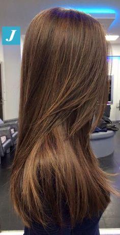 Sfumature naturali di Degradé Joelle  #cdj #degradejoelle #tagliopuntearia #degradé #igers #musthave #hair #hairstyle #haircolour #longhair #oodt #hairfashion #madeinitaly