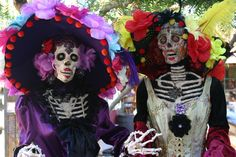 Go to the Day of the Dead celebration in Old Town. Do it. You may see a real ghost at the Whaley House.