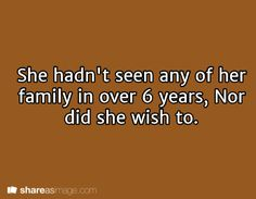 It had been over eighteen years since Ciana had seen her family, and she wasn't exactly sure that she wanted to.