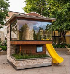 Love the idea of planter boxes put into the deck. APlaceImagined: Dreams Happen 2013