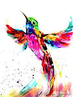 'Hummingbird drawn'  Made by artist Saroja Lien Art  Follow @ Twitter & Facebook: https://www.facebook.com/pages/Saroja-Lien-Art/725325510861877 https://mobile.twitter.com/SarojaLien_Art  Purchase @: http://www.zazzle.nl/sarojalien_art_4_you