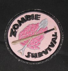 Zombie Survival Badge by elvenhands on Etsy, $7.00