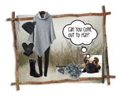 """""""Can you come out to play?"""" by bonartsstudio ❤ liked on Polyvore featuring Vivienne Westwood Anglomania, Pajar, The North Face and UGG"""