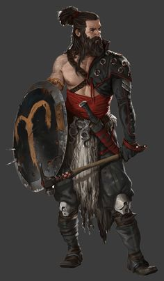 Hammer and Shield Warrior - Polycount Forum
