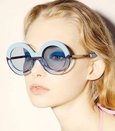 2016 New Arrival Round Clear Cute Sunglasses 1504