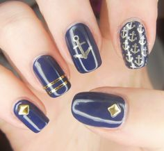 Why are navy blue nail art designs the best?