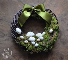 Hey, I found this really awesome Etsy listing at https://www.etsy.com/listing/125795764/easter-wreath-10-inch-door-wreaths