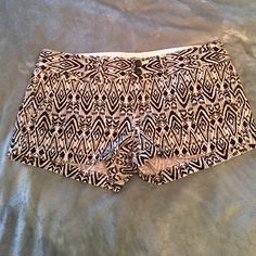 American eagle black and white shorts Really cute never worn American Eagle Outfitters Shorts