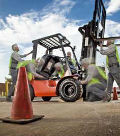 From our friends and fellow Toyota Forklift dealer Southeast Industrial Equipment. Great shot, find them on twitter @SIE_Lift