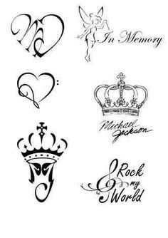 Ideas for Tattoos inspired by Michael Jackson ღ in fans who love him! - by ⊰@carlamartinsmj⊱