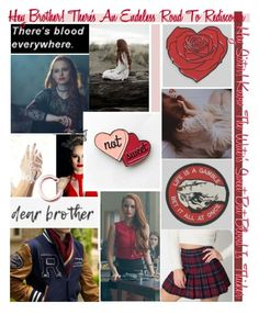 """Cheryl Blossom aka Queen"" by sheepish-wolf ❤ liked on Polyvore featuring art"