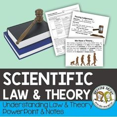 This Hypothesis, Theory and Law Activity can be used as supplement to your Scientific Method Unit as you help students to understand how scientific research moves from hypothesis, to theory and then on to a law. STUDENTS WILL: Science Vocabulary, Science Words, Science Curriculum, Teaching Science, Teaching Ideas, Biology Lessons, Science Lessons, Life Science, Scientific Method Activities