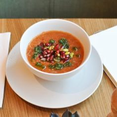 Red lentil soup with Aleppo chillies, mmm. Hemsley And Hemsley, Red Lentil Soup, Chana Masala, Soups And Stews, Lentils, Healthy Recipes, Healthy Food, Allrecipes, Thai Red Curry
