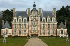 Chateau de Beaumesnil, Normandy