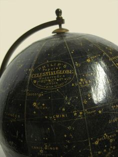 Where, oh where would a person find one of these? A celestial globe? Awesomeness.