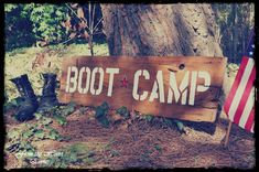 Army Boot Camp Birthday Party Ideas | Photo 6 of 28 | Catch My Party