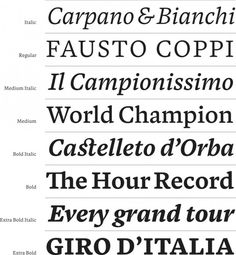 Blanco Font by David Foster