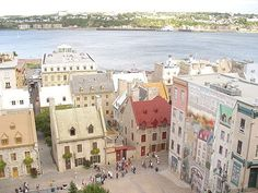 Quebec....always wanted to go there.