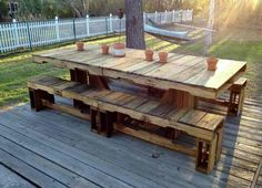 Some pallet ideas fo
