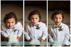How cute is he?!  I love these shots of the #ringbearer - #lafete #RobinLinPhotography
