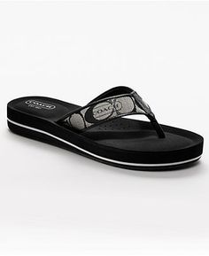 Coach Flip Flops!! So cute and look so comfy!!