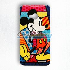 Mickey Mouse On Disney Castle Of Illusion HTC One M7 Case | casefantasy