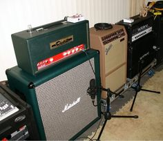 Warren Haynes studio rig