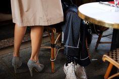 From My Seat at the Cafe, Paris « The   Shoes