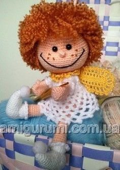 Angel tutorial crochet.
