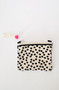 Mini Zipper Pouch - Dot