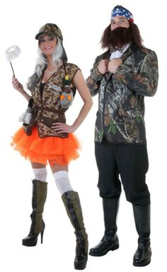 duck dynasty couples costume