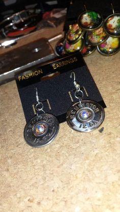 Shotgun shell earrings 12.00