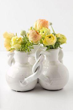 interlocking trio vase