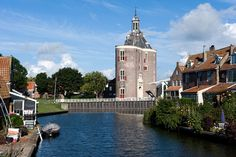 Enkhuizen is just one of many harbour towns that thrived during Holland's imperial heyday, when the Ijsselmeer lake was the open Zuider Zee