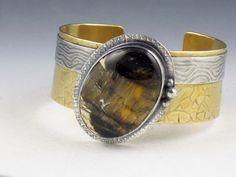 Pietersite Cuff Bracelet - Michele Grady Designs