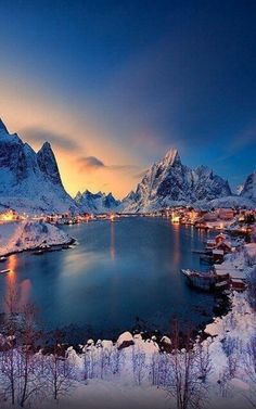 Reine, Norway.  Friday Release: And there came a lion! http://ourdailybread101.com IN GOD WE TRUST!