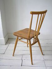 Vintage retro 391 Ercol Original Windsor Dining Desk Chair