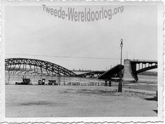 Bridge over the river Waal, near Nijmegen, the Netherlands